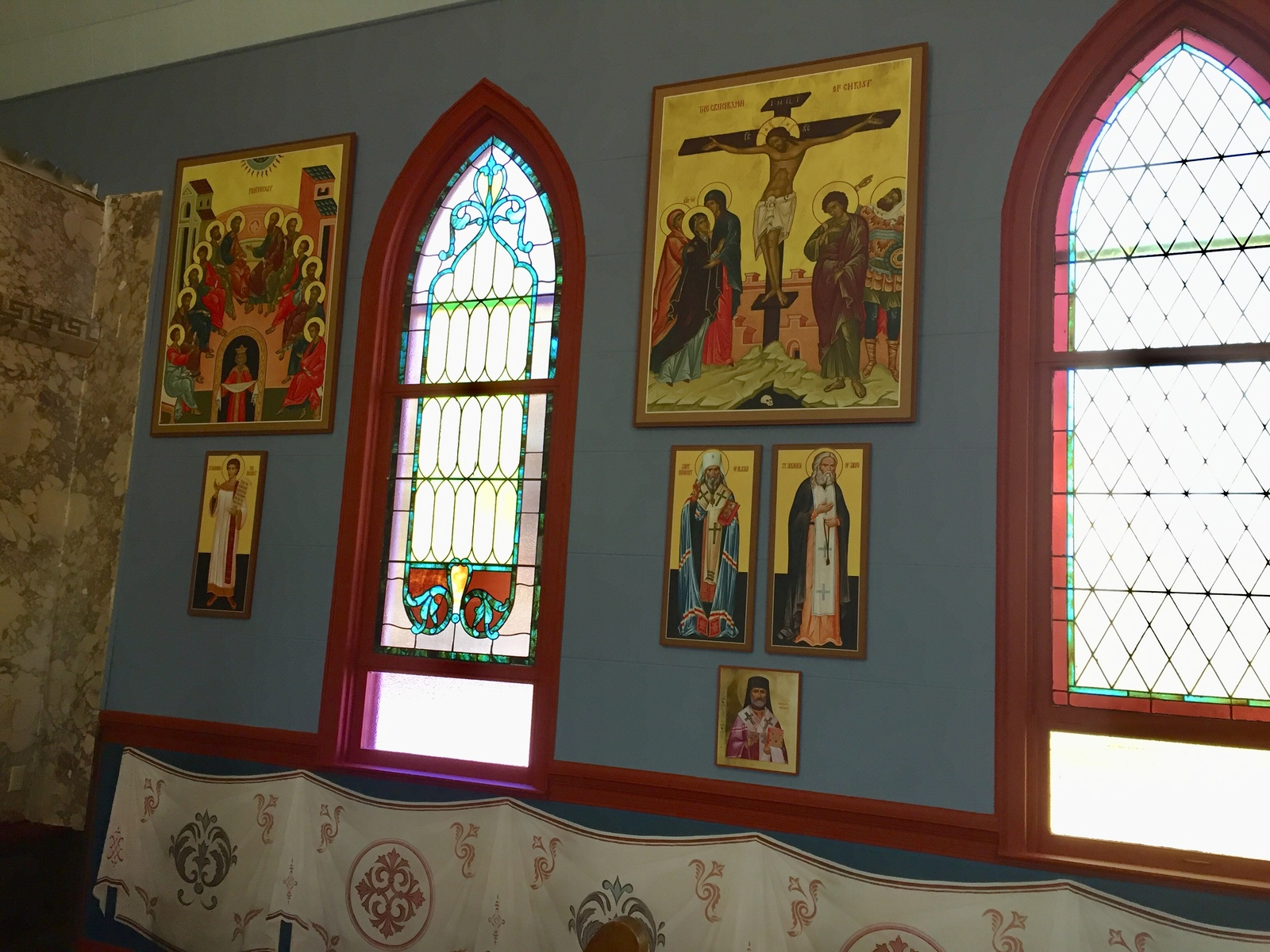 Peachy St Marys Orthodox Church Renovations Download Free Architecture Designs Pushbritishbridgeorg
